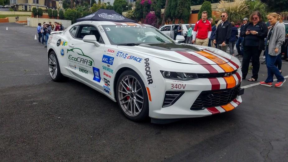 LS1Tech.com - General Motors GM EcoCar 3 Camaro SS Hybrid of the Future