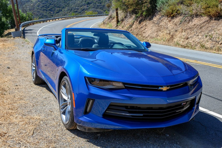 LS1tech.com Chevrolet Chevy Camaro RS Turbo Convertible Review