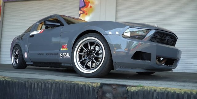LS-powered Mustang Low