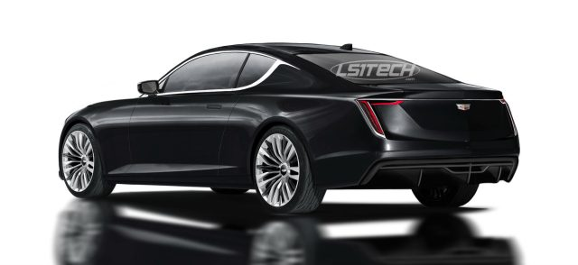 Cadillc CT5 Coupe GM Alpha Omega Platform Camaro LS1tech.com