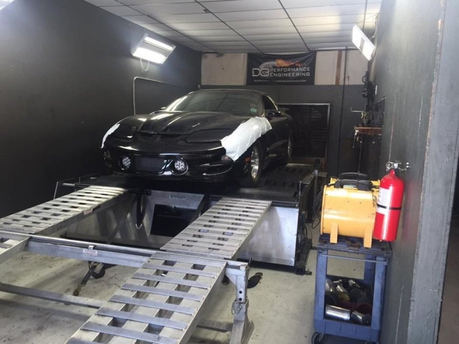 Project Blackbird Firebird on the Dyno