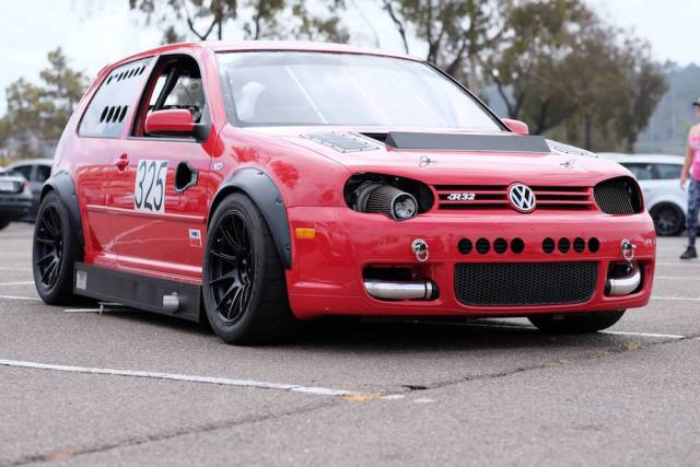 LS1-powered 2004 Volkswagen GTI R32.