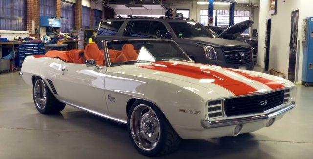 1969 LS7 Camaro Wide Front