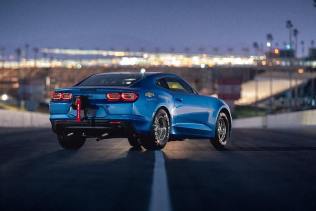The 2019 COPO Camaro's available 50th Anniversary Special Edit