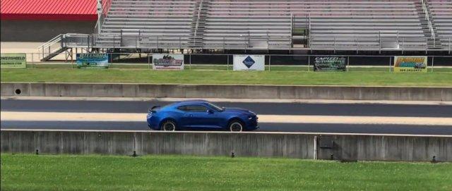 LTG Camaro in Action