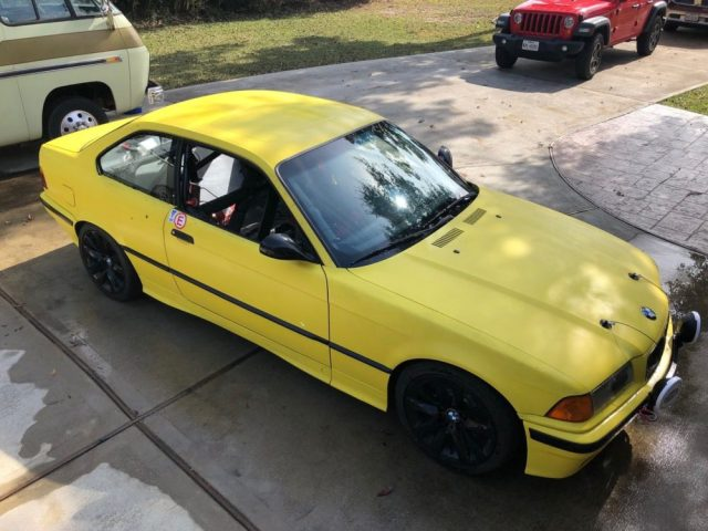 LS-Swapped BMW E36