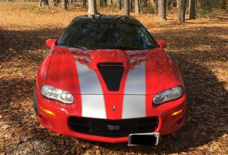 2002 Camaro SS 35th Anniversary Front