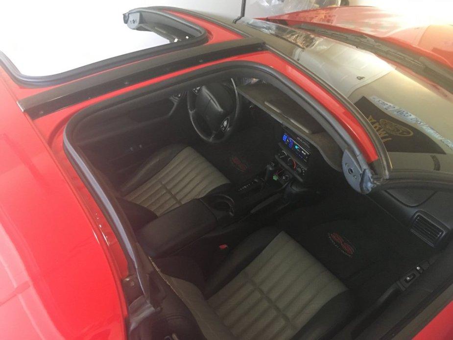 2002 Camaro SS 35th Anniversary Interior
