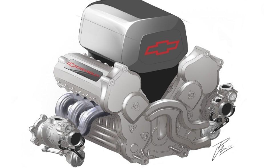 GM IndyCar Motor