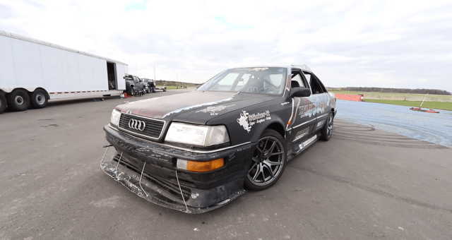 ls1tech.com Audi Quattro with Quad-Turbo LS V8