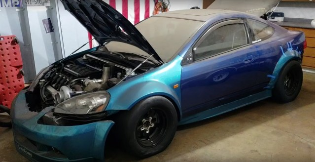 Acura RSX Quad Turbo Dual LS4 Swap Ryan Standke