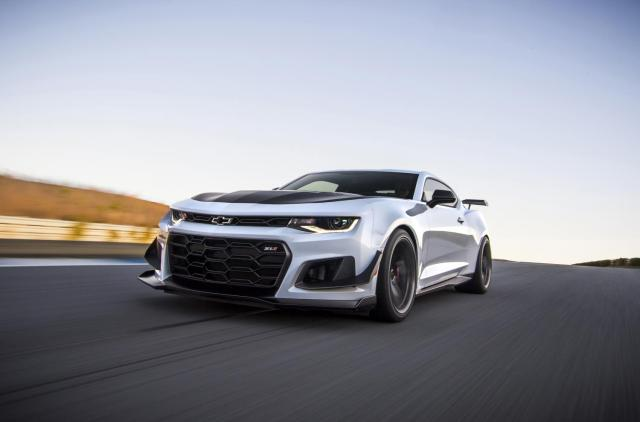 2019 Chevrolet Camaro ZL1 10-speed Transmission