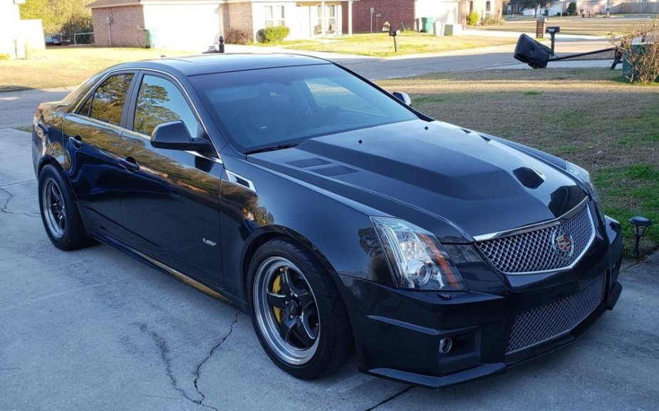 9-Second Cadillac CTS-V Front Corner