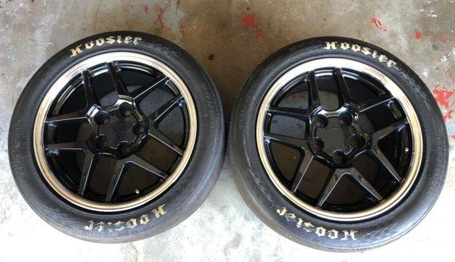 C5 Corvette Z06 Wheels and Hoosier DR2 Tires