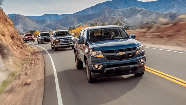 2019 Chevrolet Colorado Z71 and Some Other Losers