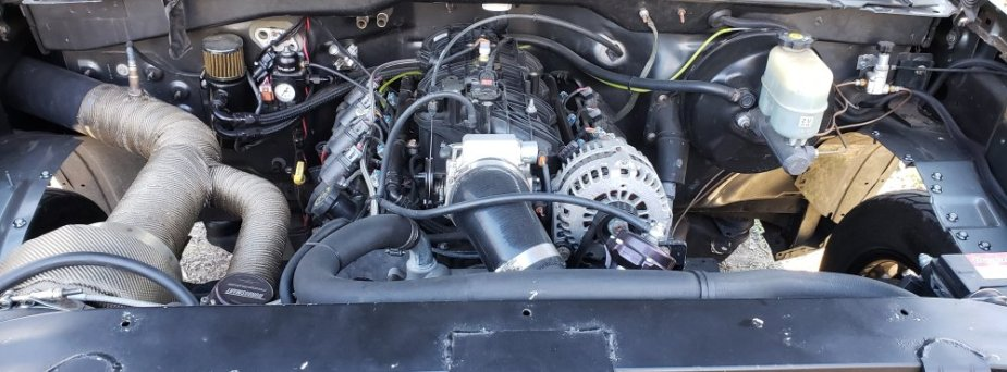 Turbo Silverado Engine
