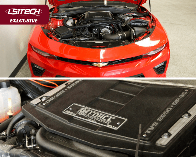 Edelbrock-blown 6th Gen Camaro