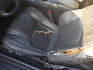 Ripped Trans Am Seat
