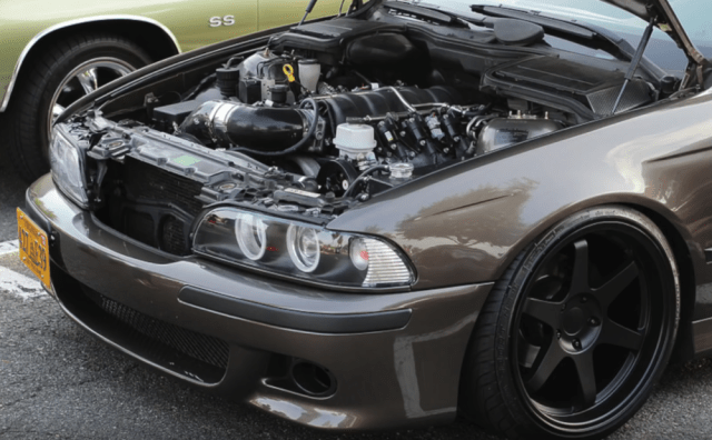 Ls-swapped BMW