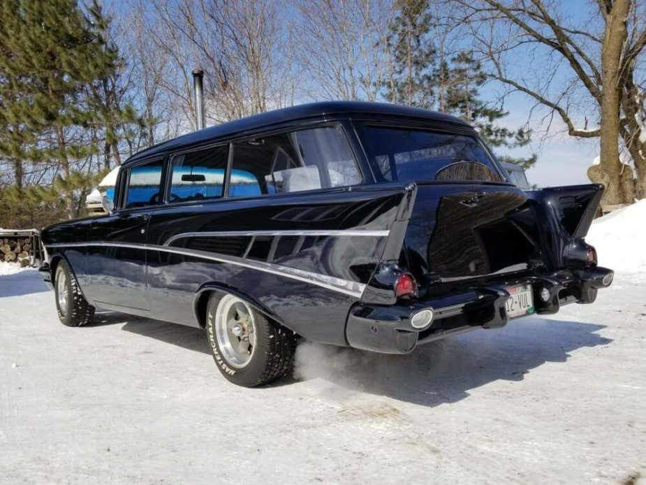 Classic 57 Chevy Wagon For Sale Packs Righteous Ls1 Power
