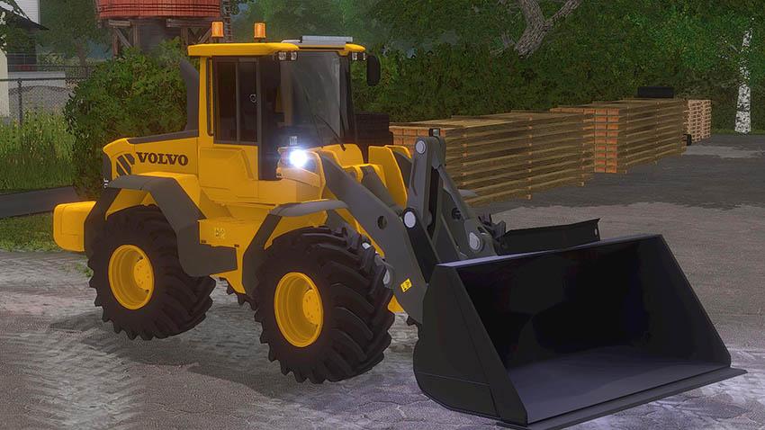 Farming Loader Volvo Simulator L70f 2013 Mod