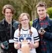 Bursary winners from Runshaw College