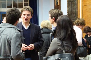 Meeting the teachers from Blackpool 6th Form