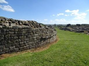 Vindolanda wall