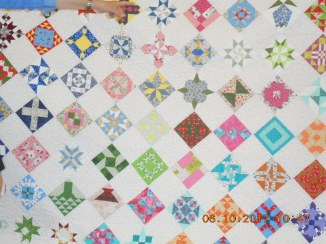 Farmer's Wife quilt shown at Coastal Quilters