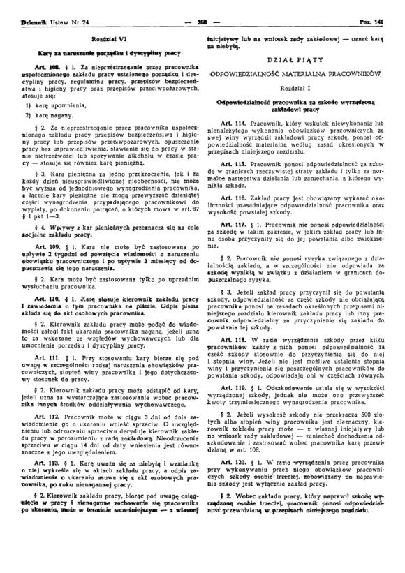 Kodeks Pracy 1974, strona 12