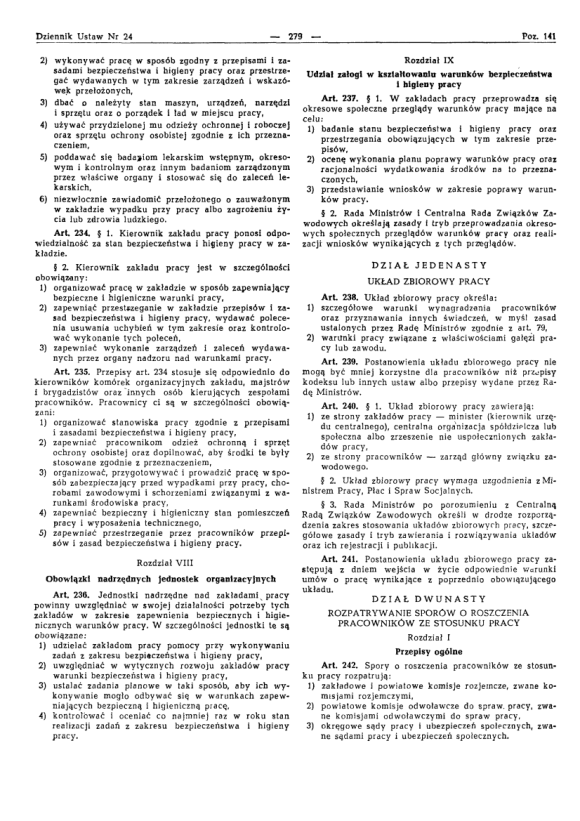 Kodeks Pracy 1974, strona 23