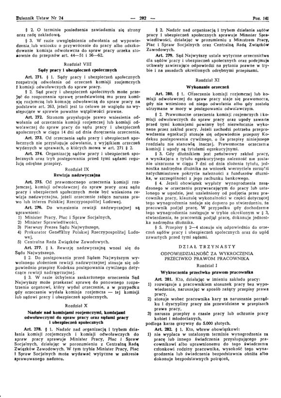 Kodeks Pracy 1974, strona 26