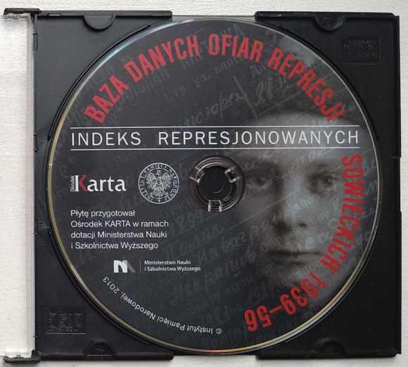 Orodek KARTA, sfałszowana baza danych osób represjonowanych przez Związek Radziecki wydana w 2013 finansowana z pieniędzy publicznych