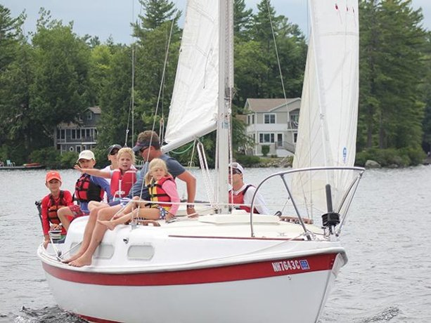 Excellent Article about the LSCF Sailing Day on the WMUR TV Web Site