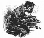Schreiben, schreiben und nichts als schreiben