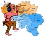 Indianer in Belgien