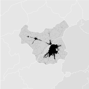 Lahore, Pakistan - density map