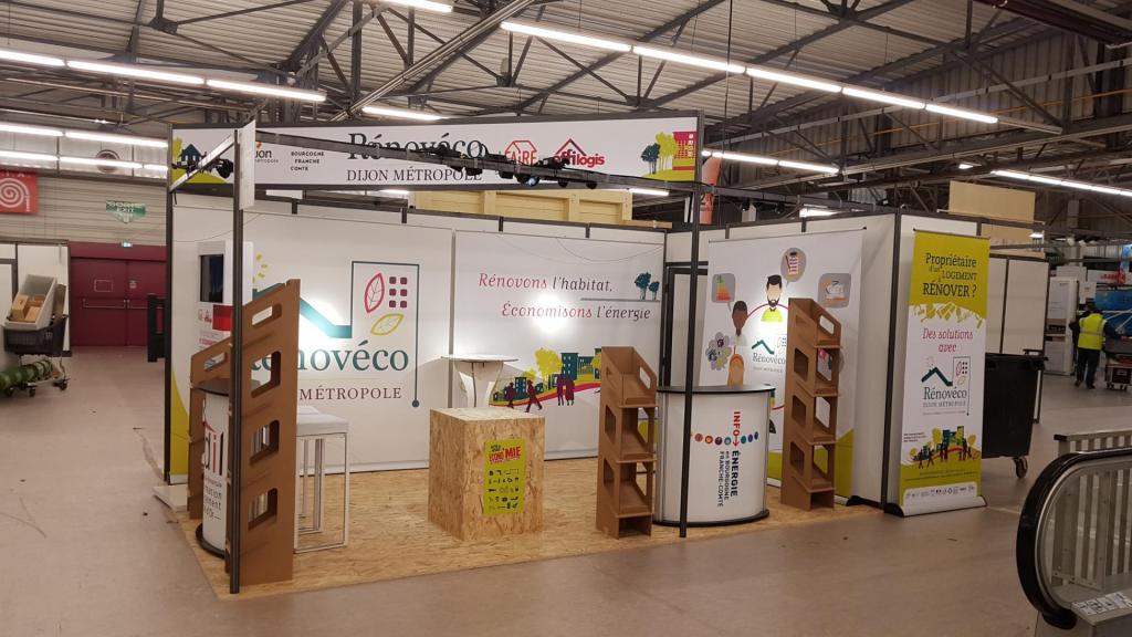 STAND – Salon de l'Habitat 2020 – DIJON METROPOLE – Rénovéco