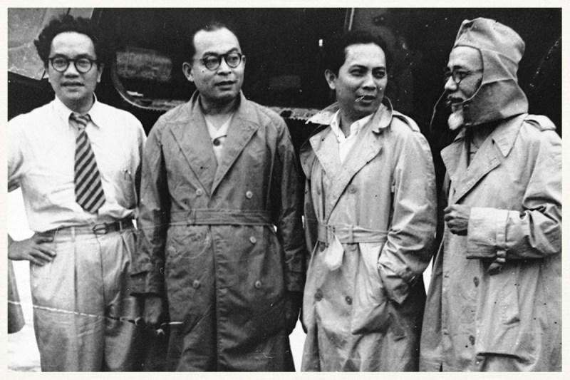 mohammad hatta dan para tokoh bangsa Indonesia