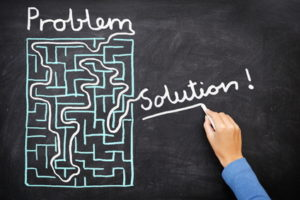 Problem and solution - solving maze