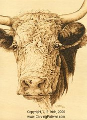 cow pattern wood carving basics pyrography