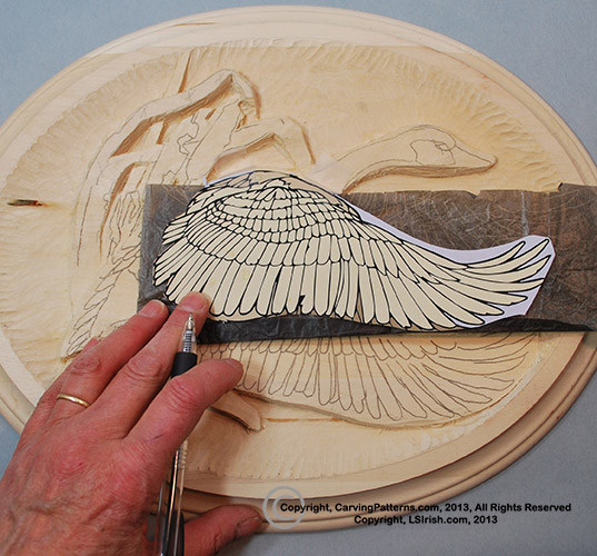In depth free online relief wood carving canada goose project by