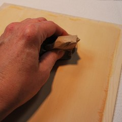 How to paint your wood carvings
