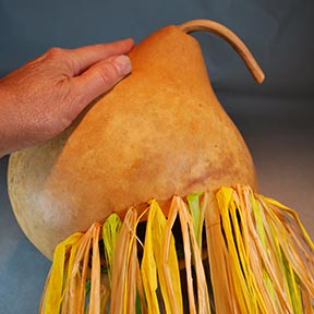 braided rim for gourds