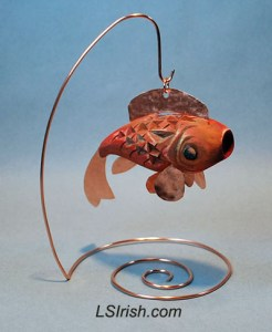 Chip Carving Fish Decoy