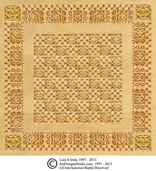graphic about Printable Chip Carving Patterns titled Chip Carving a Recreation and Chess Board Habit through Lora Irish