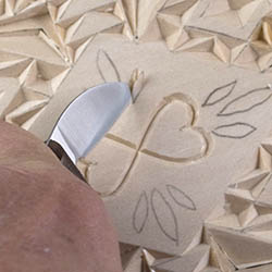 Chip carving cutting straight wall curve wall and free form chips