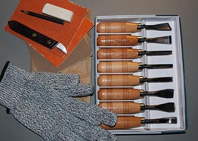 Beginner's Carving Tool Kit