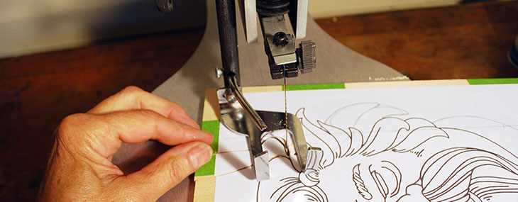 Cross-Crafting Scroll Saw Basics