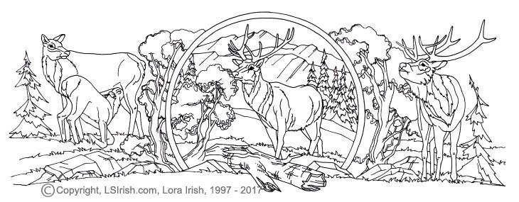 free Lora Irish patterns